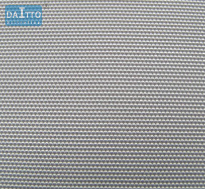 1100 - 1500n Acrylic Woven Filter Cloth Large Filtration Area 150 Degree Max Temp