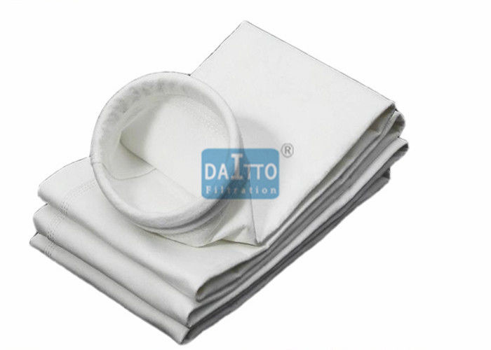 Chemical Polypropylene Filter Bags , Industrial Dust Collector Bags 1.8 - 2.6mm Thickness