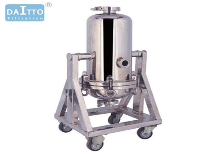 Titanium Rod Industrial Filter Housing 304 316L High Strength Materials