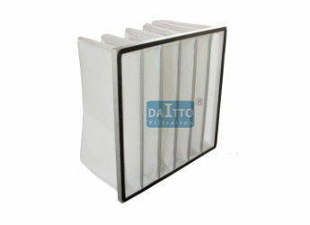 380mm Depth Bag Filters For Hvac , Air Pre Filter Synthetic Fiber Prime