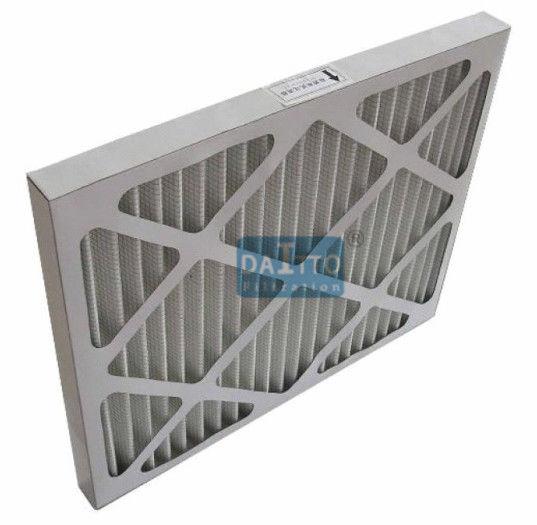 Galvanized Prime High Flow Air Filter Non Woven Cloth Filter Media 95% Efficiency