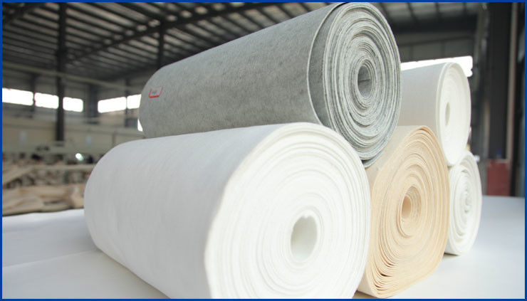 Light Weight  Filter Cloth , Filter Cloth For Filter Press Optimal Heat Stability